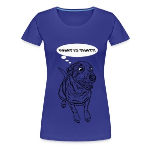 Funny Dog Cartoon - Maglietta Premium da donna
