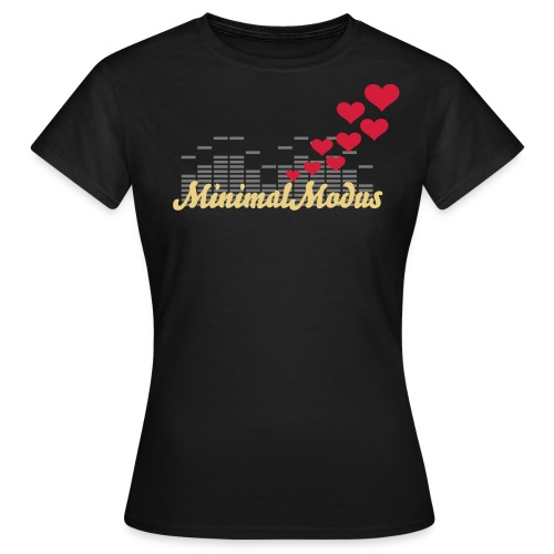 MinimalModus, Heart-Beat - Frauen T-Shirt
