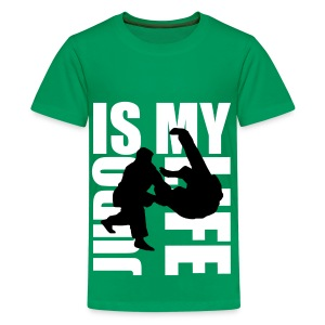 T shirt ado judo is my life - T-shirt Premium Ado