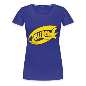 Logo lettrage Toulon - T-shirt Premium Femme