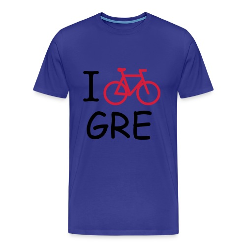 T-SHIRT HOMME BICYCLE IN GRENOBLE- BLEU - T-shirt Premium Homme