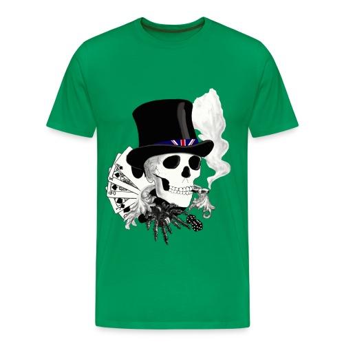 Skull T-Shirt - Men's Premium T-Shirt