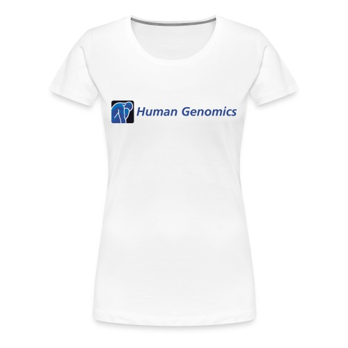women's t-shirt human genomics - Women's Premium T-Shirt