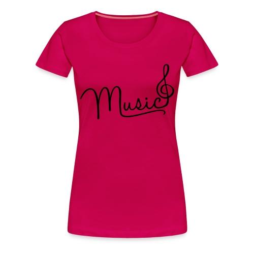 Muisc  - Women's Premium T-Shirt