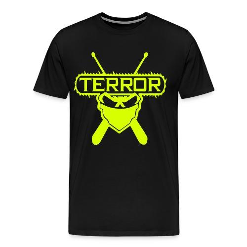 Terror UNTERGRUNDKINGZ Gelb - Männer Premium T-Shirt