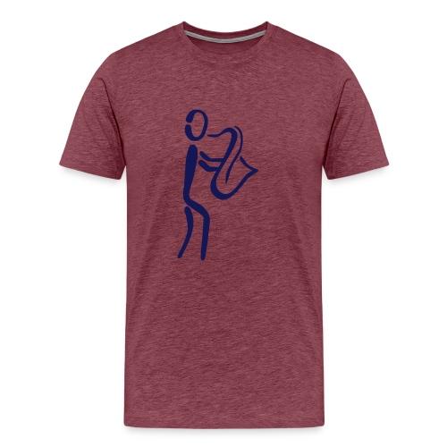 Saxophonist Shirt - Männer Premium T-Shirt