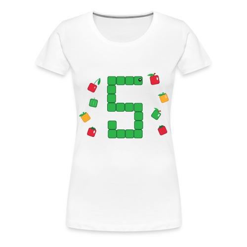 T-shirt Snake - T-shirt Geekette - T-shirt Premium Femme