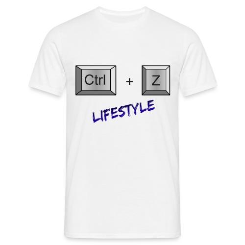 Ctrl+Z - T-shirt Homme