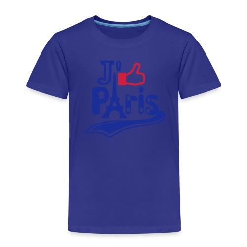 je like Paris tattoo et la tour Eiffel Tee shirts Enfants - T-shirt Premium Enfant