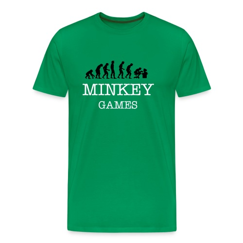 Minkey's Evolution - Men's Premium T-Shirt