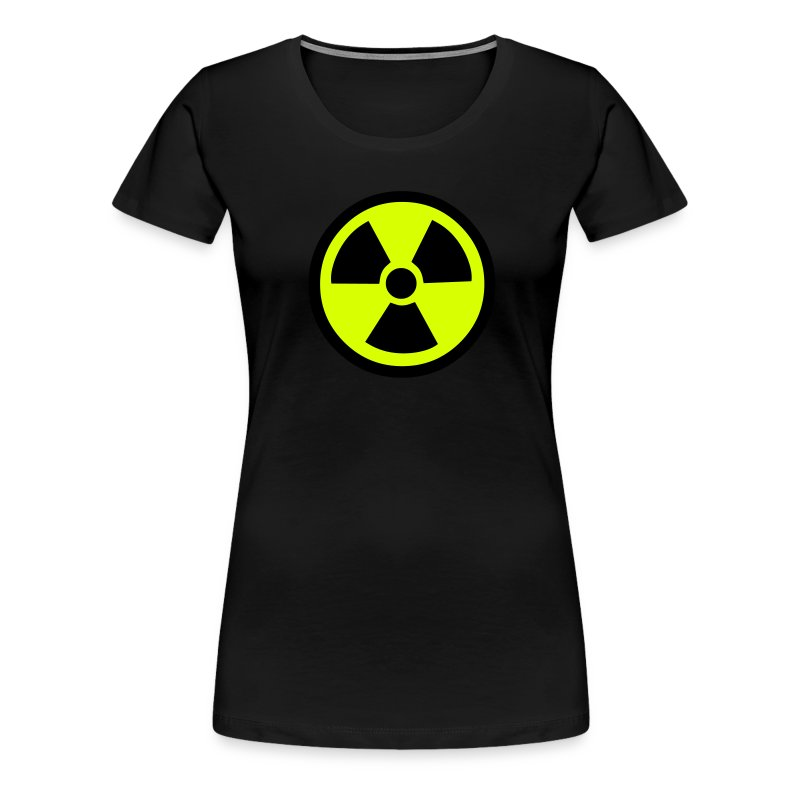 Radiation Warning - Women's Premium T-Shirt