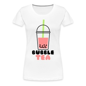 bubble tea shirt - Frauen Premium T-Shirt