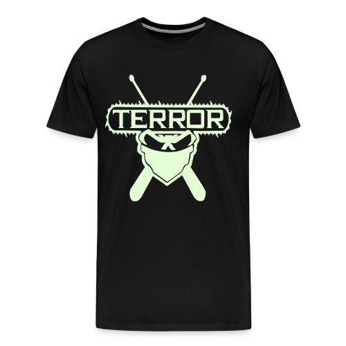 Terror UNTERGRUNDKINGZ Im dunkeln leuchtend - Männer Premium T-Shirt