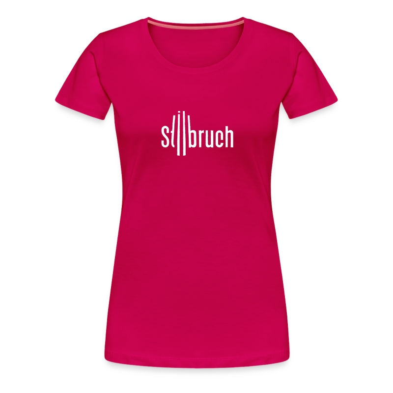 Stilbruch-Fanshirt (F) - Frauen Premium T-Shirt
