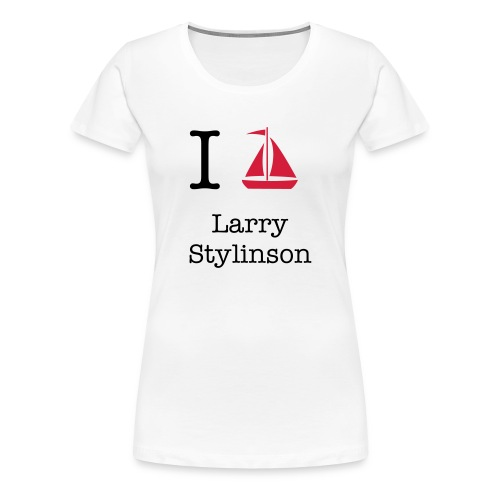 I ship Larry Stylinson t-shirt - Women's Premium T-Shirt