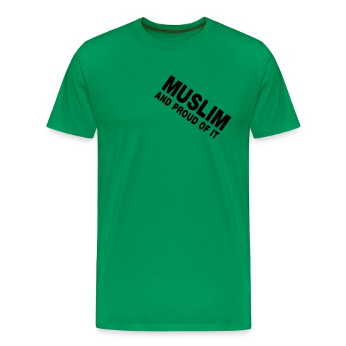 Muslim & Proud  - Men's Classic T-Shirt - Men's Premium T-Shirt