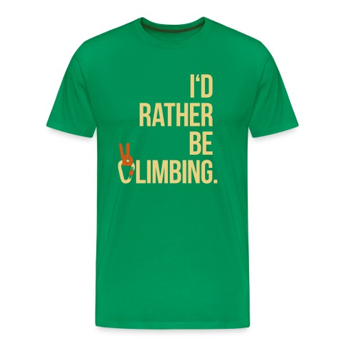 I'dRBC - Men green - Männer Premium T-Shirt