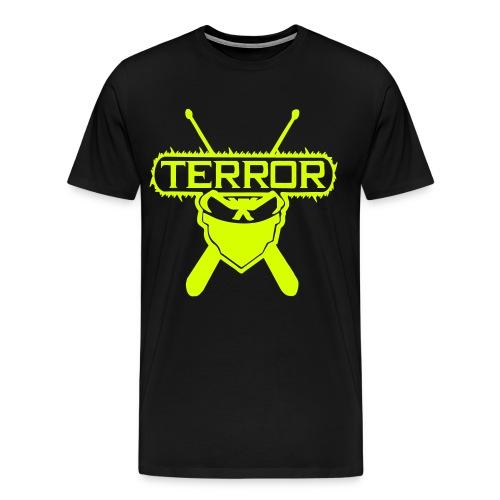 Terror gelb - Männer Premium T-Shirt