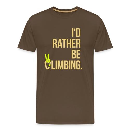 I'dRBC - Men brown - Männer Premium T-Shirt
