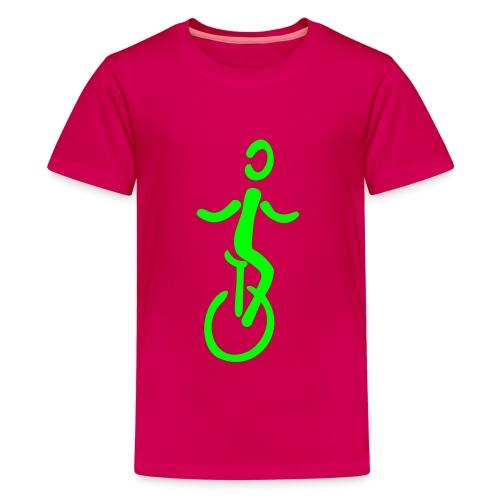 Einrad Shirt - Teenager Premium T-Shirt