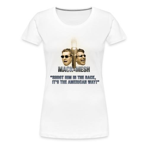 The American [Girl's] Way! - Women's Premium T-Shirt