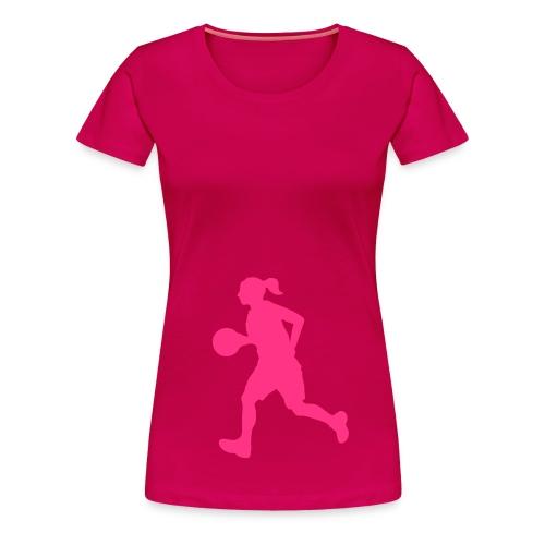 Tshirt Classique Basketball - T-shirt Premium Femme