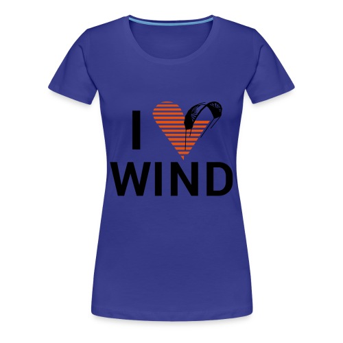 Love2Kite - Frauen Premium T-Shirt