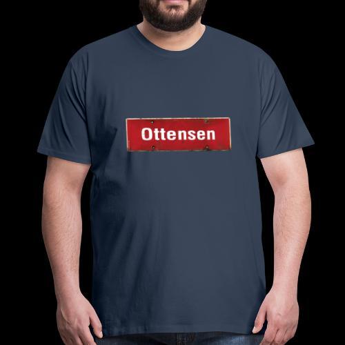 Mein Hamburg, mein Ottensen, mein Kiezshirt - Männer Premium T-Shirt