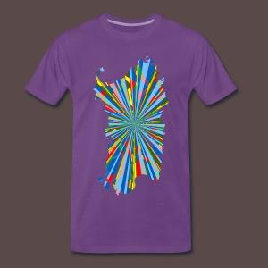 Sardegna, Esplosione colori - Maglietta Premium da uomo