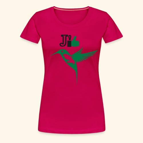 J'aime la Martinique l'île aux fleurs - T-shirt Premium Femme