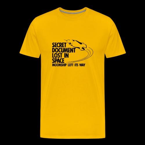Lost Document (black oldstyle) - Männer Premium T-Shirt