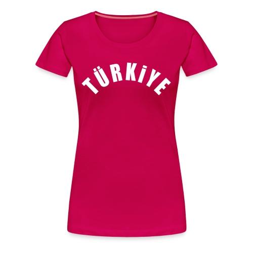 Türkiye - T-shirt pink - Frauen Premium T-Shirt