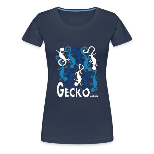 Camiseta chica Gecko - Camiseta premium mujer