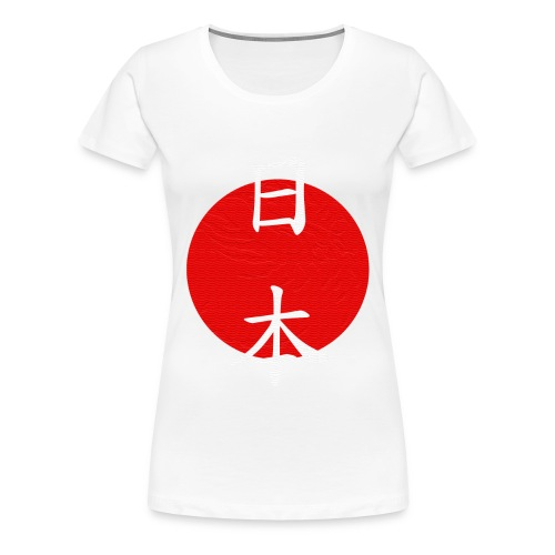 Japan - Phoenix logo in relief - Maglietta Premium da donna