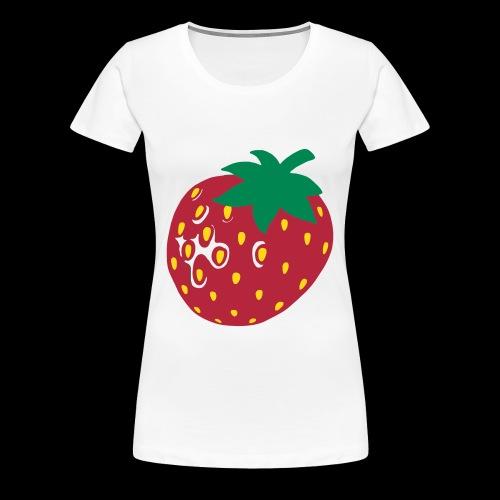 Erdbeere....Sweeeeeet! - Frauen Premium T-Shirt