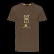 T-Shirts ~ Männer Premium T-Shirt ~ Isses noch weit?