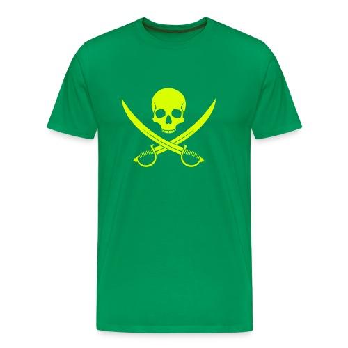Säbel-Totenkopf - Männer Premium T-Shirt