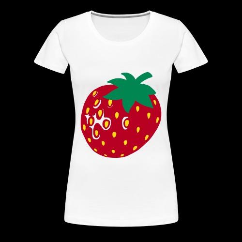 Erdbeere...Sweeeeeet! - Frauen Premium T-Shirt
