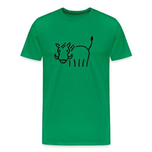 Warzenschwein - Männer Premium T-Shirt
