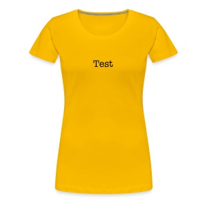 Test - Frauen Premium T-Shirt