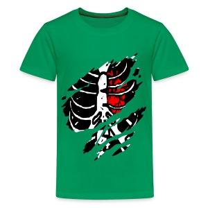 T shirt ado squelette - T-shirt Premium Ado