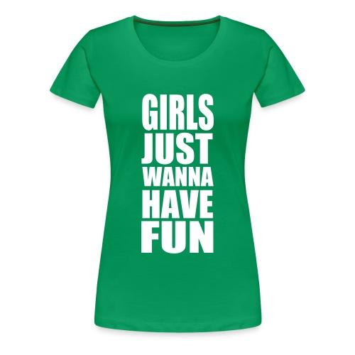 Fun Shirt - Frauen Premium T-Shirt