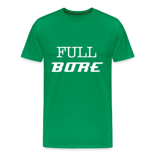 Full Bore Simple Tee - Men's Premium T-Shirt