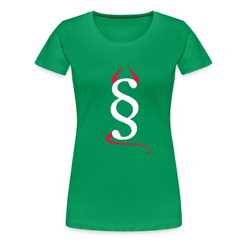 Devils Paragraph T-Shirt Frau - Frauen Premium T-Shirt