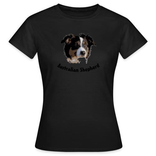 tier hunde t-shirt australian shepherd aussie hund hüte hüten border collie agility - Frauen T-Shirt