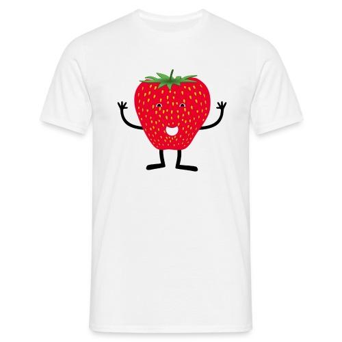 Erdbeerchen T-Shirt - Männer T-Shirt