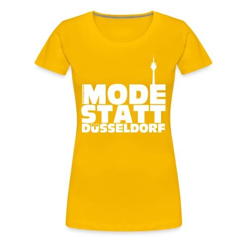 Mode statt Düsseldorf Girlie-Shirt - Frauen Premium T-Shirt