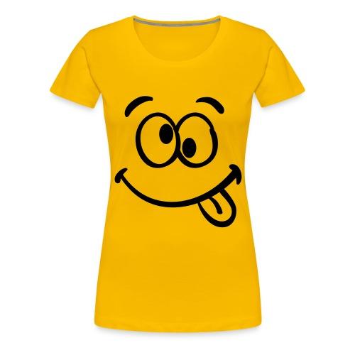 Augen Roll - Frauen Premium T-Shirt