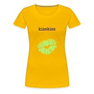 kisskiss - Women's Premium T-Shirt