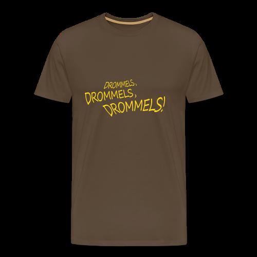 Drommels drommels drommels - Mannen Premium T-shirt